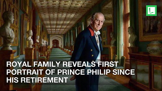 Royal Family Reveals First Portrait of Prince Philip Since His Retirement - Video