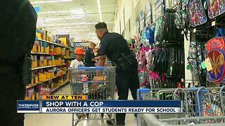 Shop With a Cop: Aurora officers get students ready for school