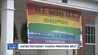 The United Methodist Church could potentially be splitting into two denominations over LGBTQ issues,