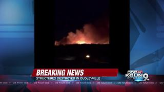Brush fire destroys homes in Pinal County - Video