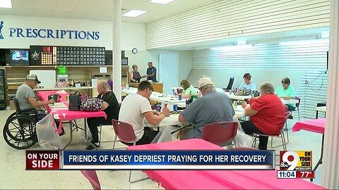 Friends of Kasey DePriest praying for her recovery