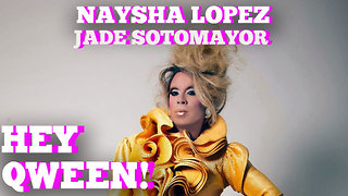 Shots Fired! Naysha Lopez Shades Jade Sotomayor: Hey Qween! HIGHLIGHT - Video