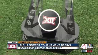 Big 12 soccer tournament takes place at Swope Soccer Village for fifth year - Video