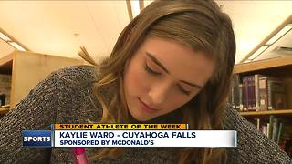 Student Athlete of the Week: Kaylie Ward