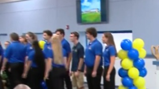 Martin County High School 1964 time capsule opening - Video
