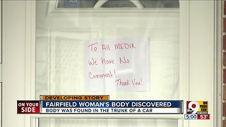 Fairfield woman's body found in trunk