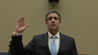 Michael Cohen gives opening statement to House oversight committee