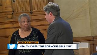 Interim Health Commissioner walks back vaccine comments - Video