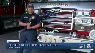 Delray Beach Fire Rescue sharing stories of firefighters who have battled cancer