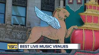 Thursday's Top 7: Best live music venues