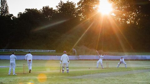 Didn't bat an eyelid! Cricketers set alarms for special summer solstice sunrise match