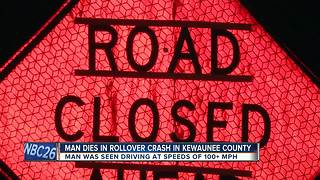 Kewaunee man killed in rollover crash identified - Video
