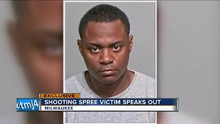 Milwaukee man speaks out after being shot by close friend