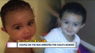 2 facing murder charges for child's death caught in Michigan