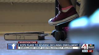 KCPS plans to reverse declining enrollment trend - Video