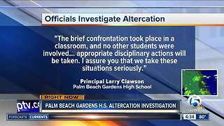 Altercation investigated - Video