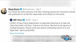 El Paso shooting social media reaction