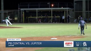 Jupiter baseball picks up first win