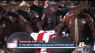 Are death benefits for fallen officers' families enough? - Video