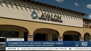 COVID-19: Cosmetology students say classes not safe