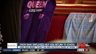 Hello humankindness: donations during back-to-school season