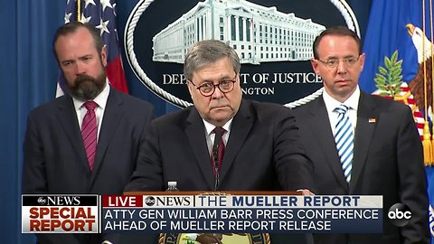 Special Report: Press conference ahead of Mueller report release