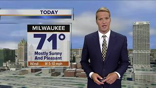 Mostly sunny and pleasant Thursday - Video