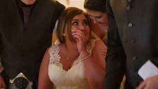 Groom Surprises Bride with Adorable Westie Puppy - Video