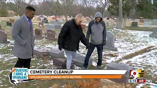 Houston, I Have a Problem: Blanchester cemetery cleanup - Video