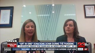 'Gift in Kind' clothing drive for families in need