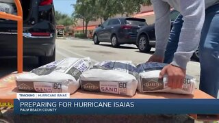 Palm Beach County residents stock up on supplies to prepare for Hurricane Isaias