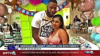 Unspeakable tragedy: Children lose both parents in West Palm Beach, Florida - Video