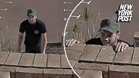 Parkour's Most Wanted: Guy rips brick ledge with bare hands