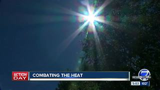 Denver heat wave breaking records and ACs, cars - Video