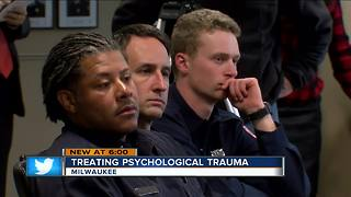 Milwaukee firefighters receive psychological response training