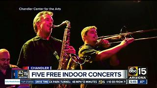 Five free indoor concerts in the Valley - Video