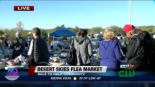 Flea market raises money for good cause - Video