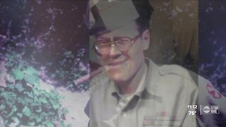 Tampa veterans escort unclaimed WWII veteran 1000 miles to be buried next to his mom in Kentucky