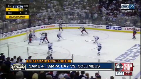 Sweep! NHL-best Tampa Bay Lightning ousted in record speed by Columbus Blue Jackets
