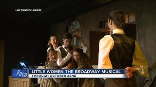 Lake Country Playhouse performing Little Women: The Broadway Musical