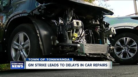 GM strike leads to delays in car repairs