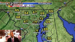 Chance of Rain for Baltimore - Video