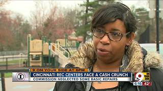 I-Team: Cincinnati Rec Centers face a cash crunch - Video