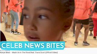North West DANCES In Kanye Wests NEW Music Video Wash Us In Blood
