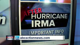 After Hurricane Irma: Important info for Tampa Bay Area residents - Video