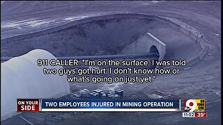 Two injured in underground mining accident outside Batavia