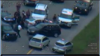 Police pursuit in Indian River County