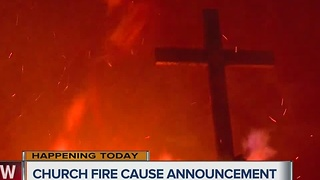 Redeemer Lutheran Church in Claremore damaged by fire - Video