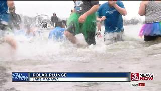 Polar Plunge raises money for Special Olympics - Video
