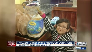Catholic Charities Annual Thanksgiving Turkey Drive